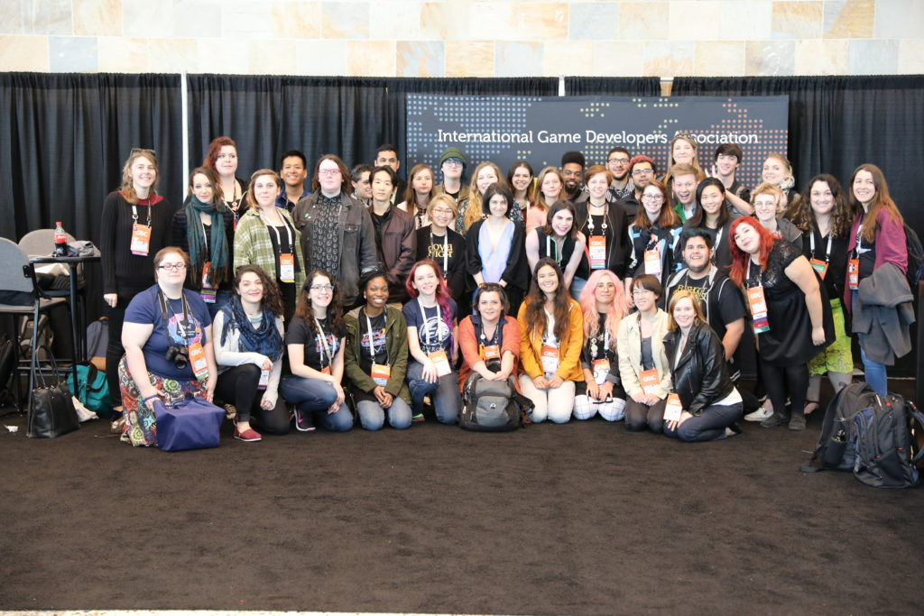 IGDA Foundation GDC 2017 Scholarship Recipients and Volunteers